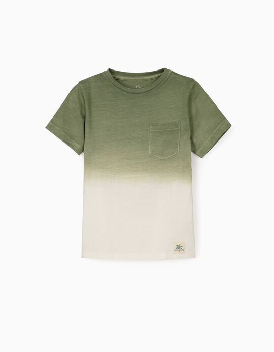 T-shirt for Boys 'Ancient Egypt', Green/White