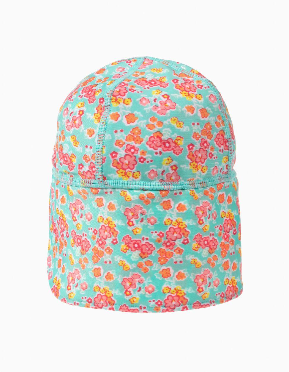 Chapéu de Praia Flores Anti-UV 40
