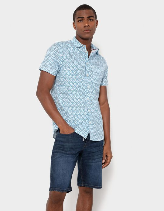 Shirt in Organic Cotton, Men
