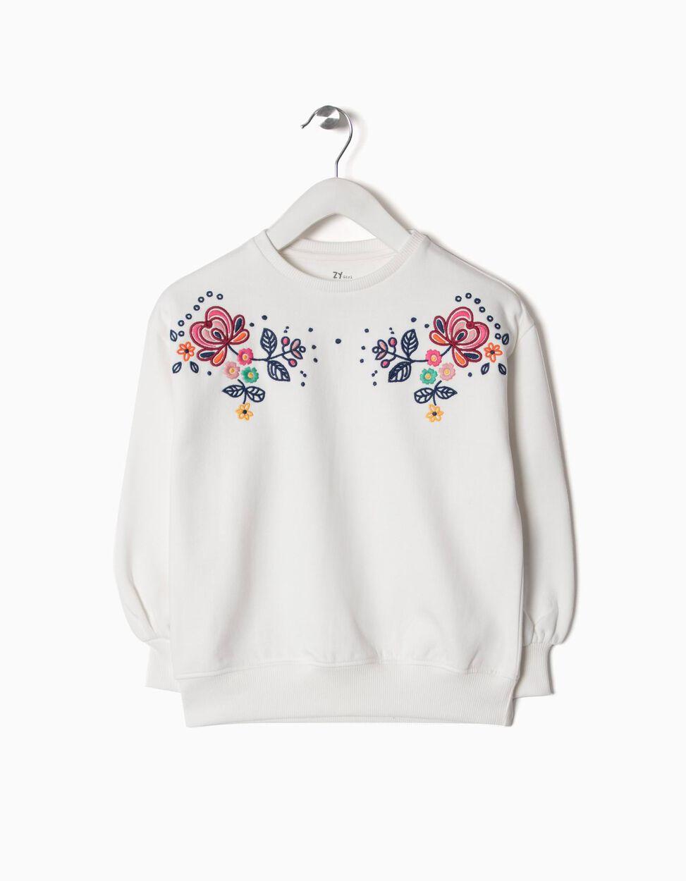 Sweatshirt bordada