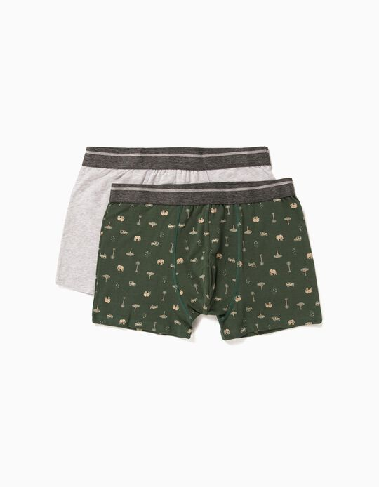 2 Assorted Boxer Shorts for Men
