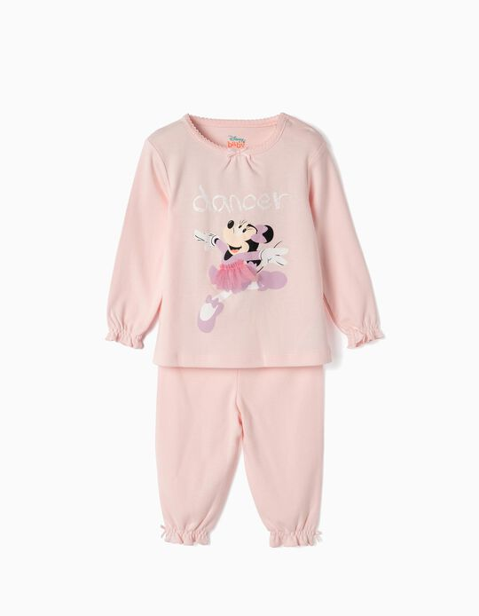 Pyjamas for Baby Girls 'Minnie Ballerina', Pink