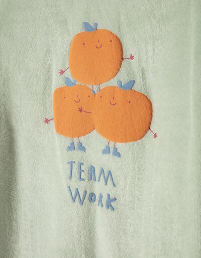 Babygrow Veludo Team Work