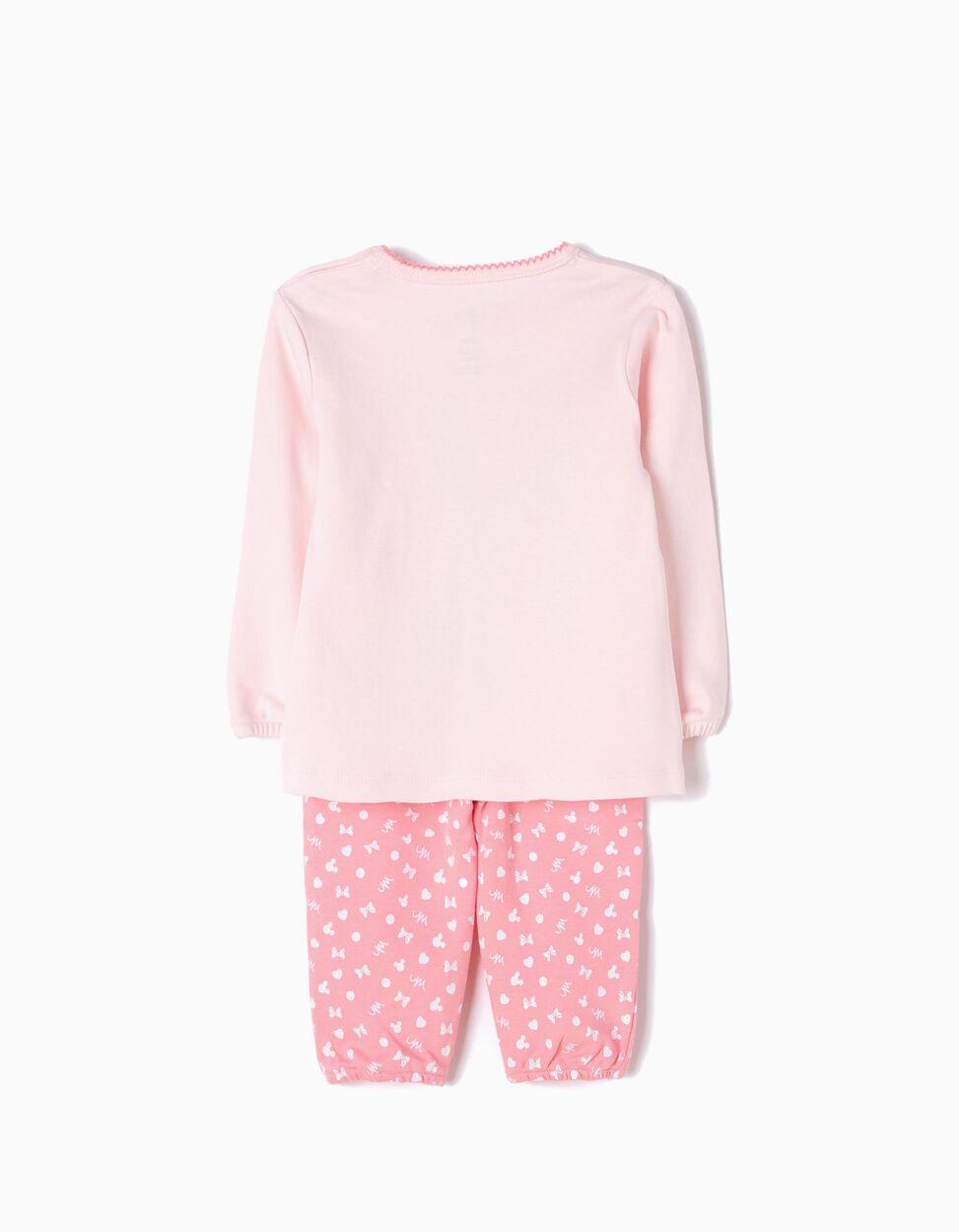 Pijama Manga Comprida e Calças Minnie Cute
