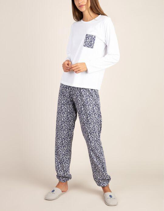 Conjunto pijama com bolso