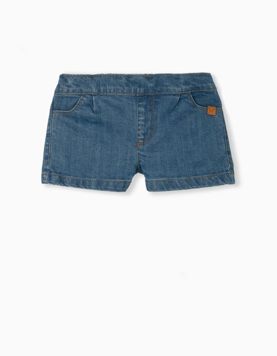 Denim Shorts, Organic Cotton