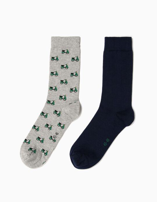 Pack de 2 pares de meias