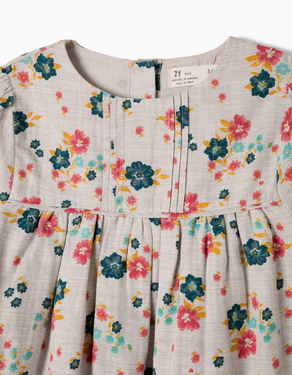 Blusa Fluida Flores