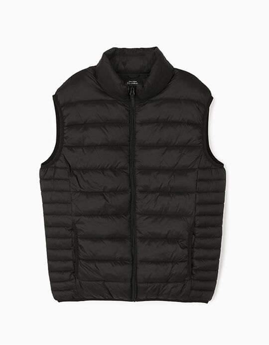 Padded Bodywarmer with Collar