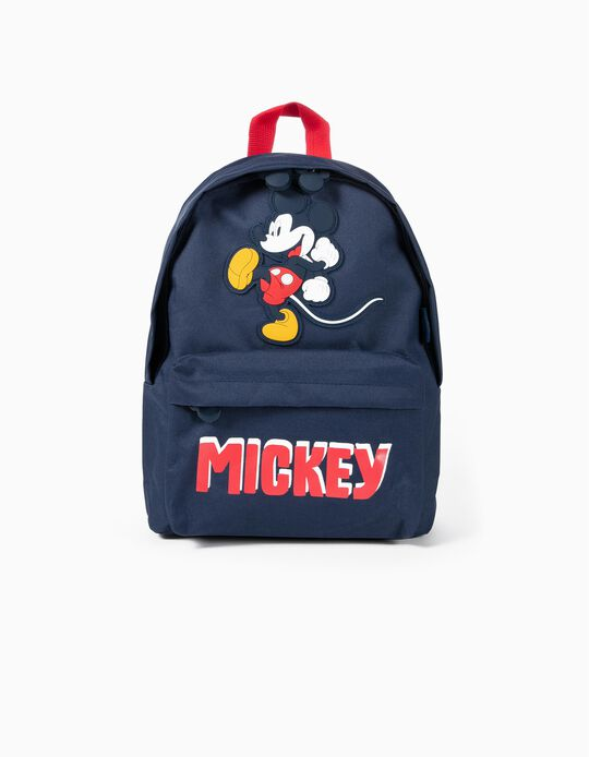 Backpack for Boys 'Mickey', Dark Blue/Red