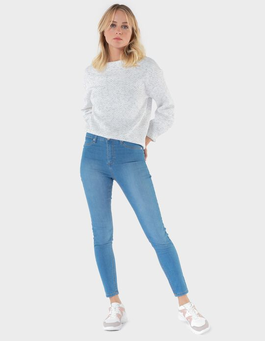 Jeggings in Stretch Denim