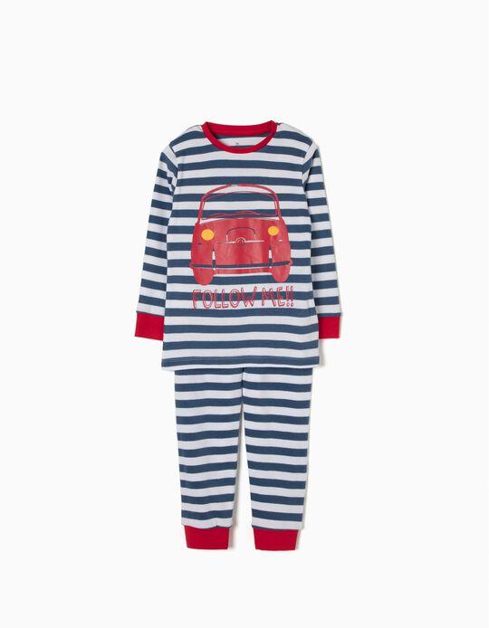 Pijama Riscas Cars