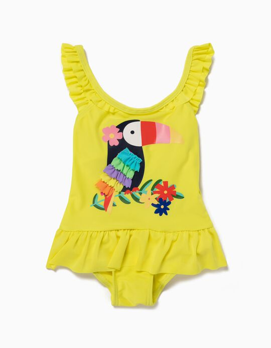 Swimsuit for Baby Girls, Toucan
