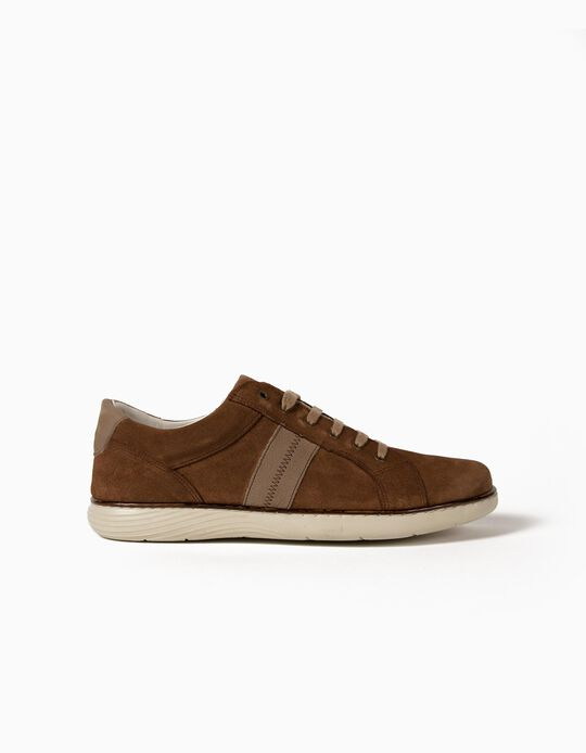 Suede Trainers, Made in Portugal