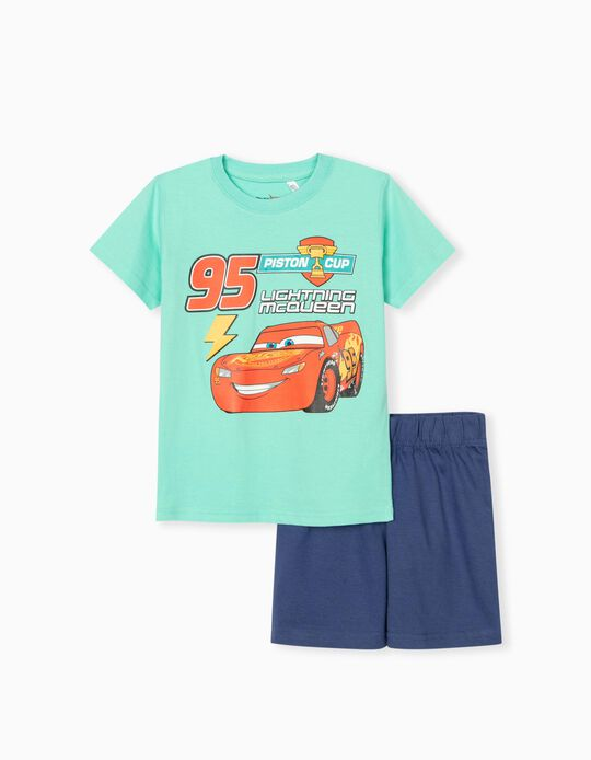 Disney Pixar' Pyjamas for Boys, Blue/ Green
