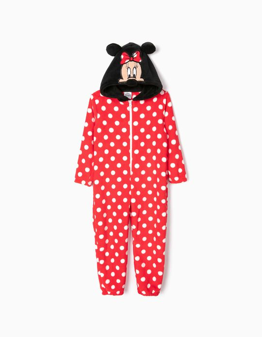 Onesie for Girls 'Minnie', Red