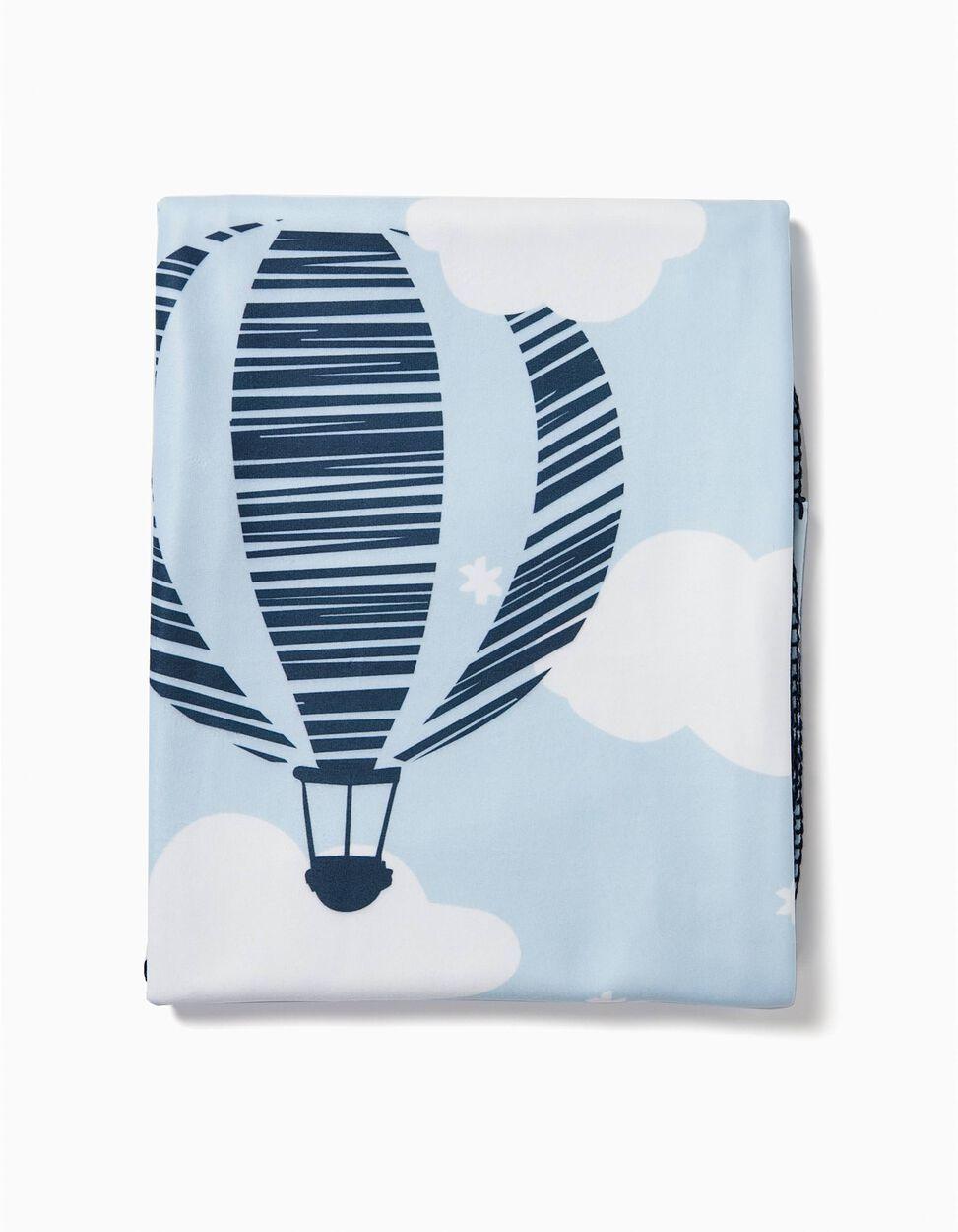 Manta Polar 100X90cm Balloon Zy Baby
