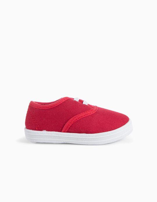 Sapatilhas Plimsoles Vermelho