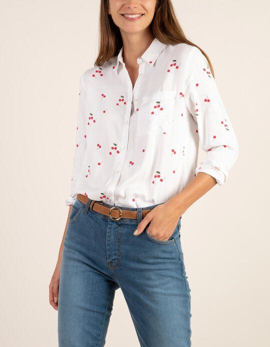 Camisa cerejas