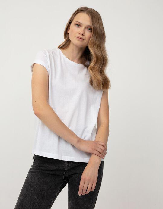 Basic T-shirt for Women, White
