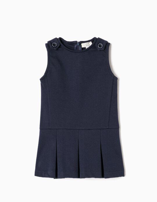 Dress for Baby Girls, Dark Blue