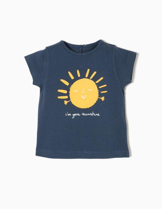 Blue T-Shirt, Sunshine