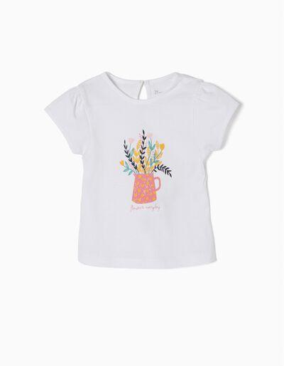 T-shirt Estampada Flowers Everyday