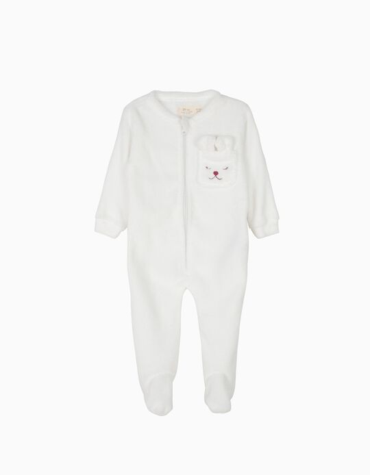 Pijama Macacão com Pés Little Dog