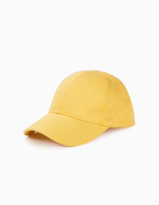 Boné para Menina 'ZY 96', Amarelo