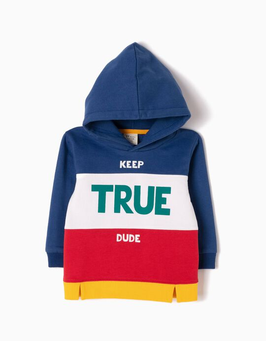 Sweatshirt com Capuz Keep True