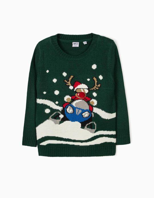 Camisola de malha de Natal