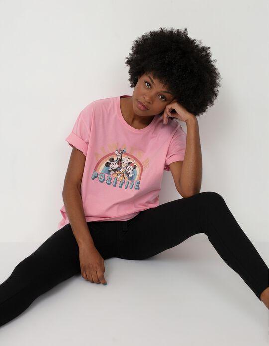 Disney T-shirt, Women, Pink