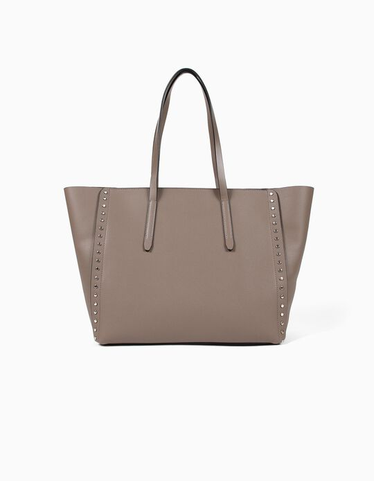 Studded Shopper Bag