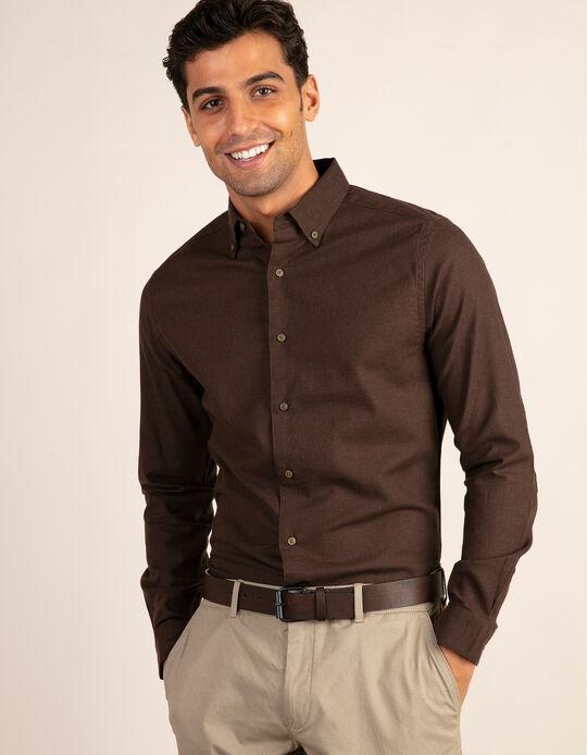 Camisa tailored fit vaiela