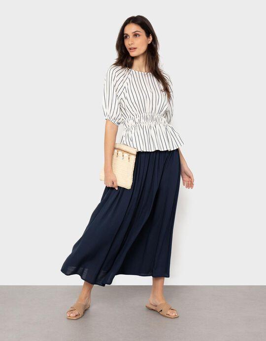 Fluid Midi Skirt, for Women