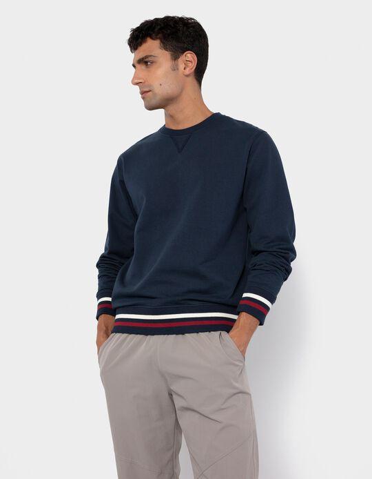 Sweatshirt for Men, Dark Blue
