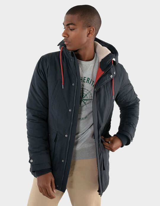 Padded Nautical Parka