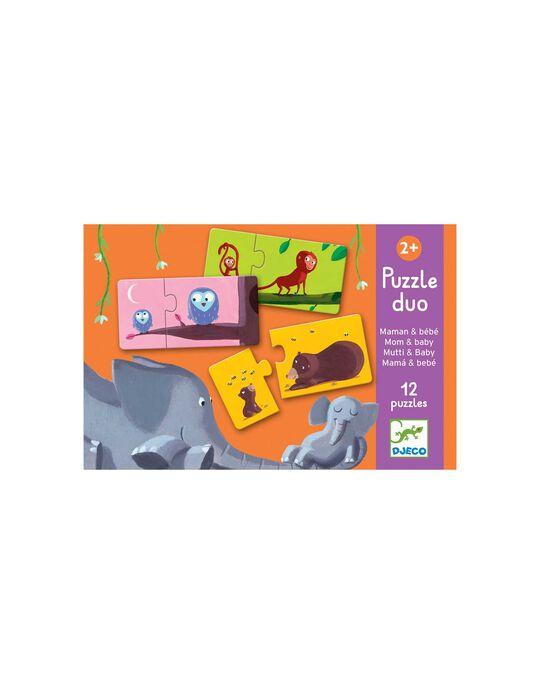 Puzzle Mums&Babies Djeco