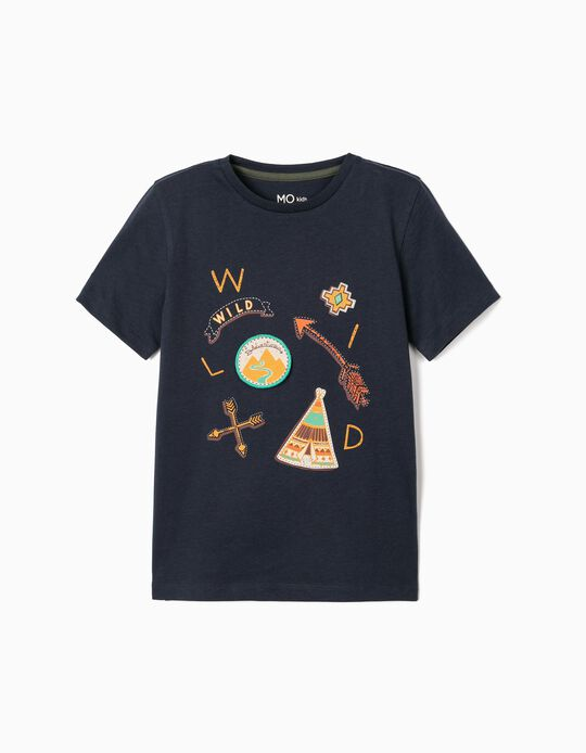 Wild Adventurous T-shirt, for Boys