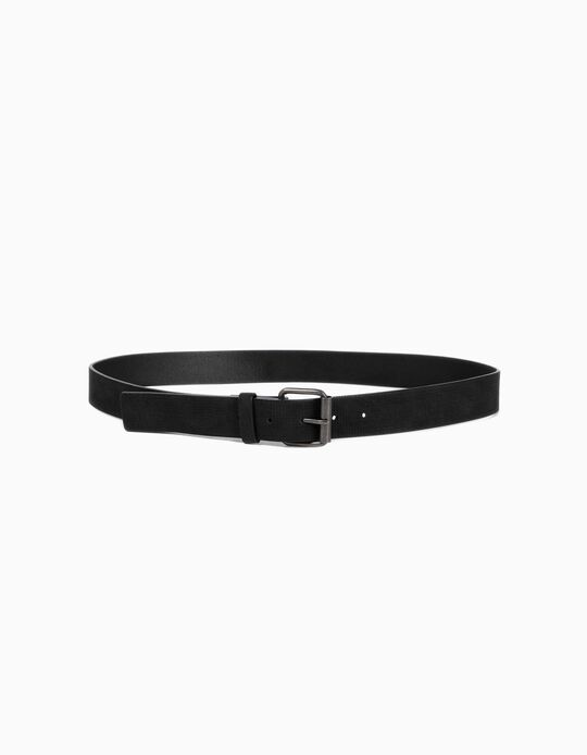 Chequered textured belt