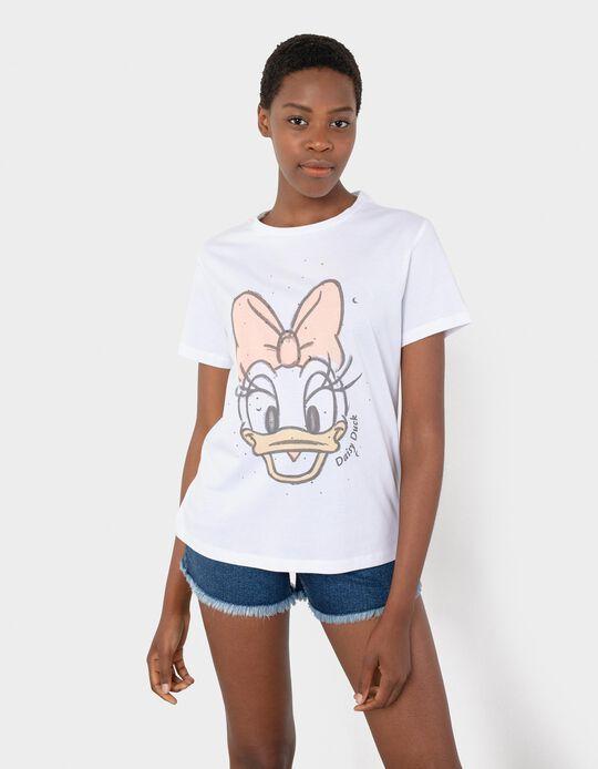 T-shirt Disney, Mulher, Branco