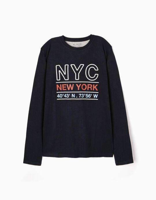T-shirt de manga comprida