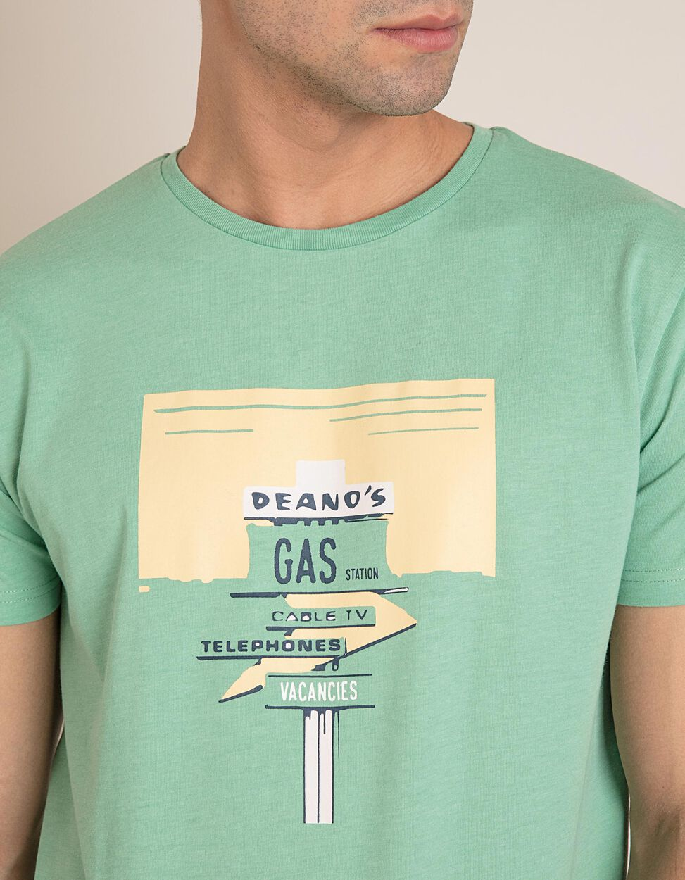 T-Shirt Deano's Gas Station