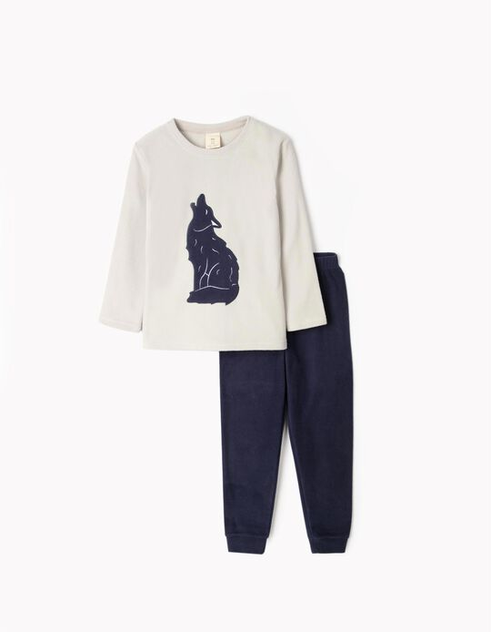 Polar fleece pyjamas Wolf