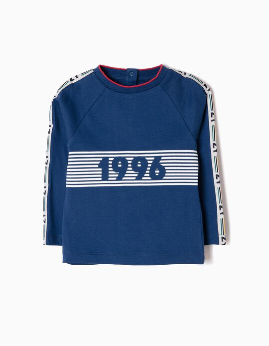 T-shirt Manga Comprida ZY 1996 Estampada