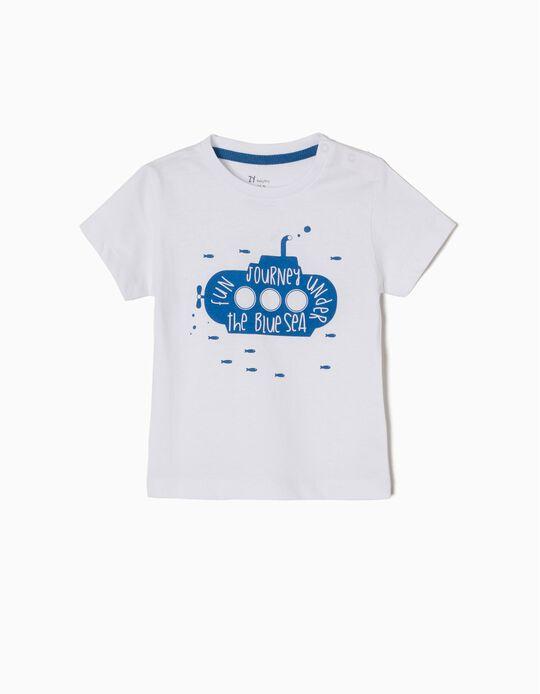 T-shirt Blue Sea