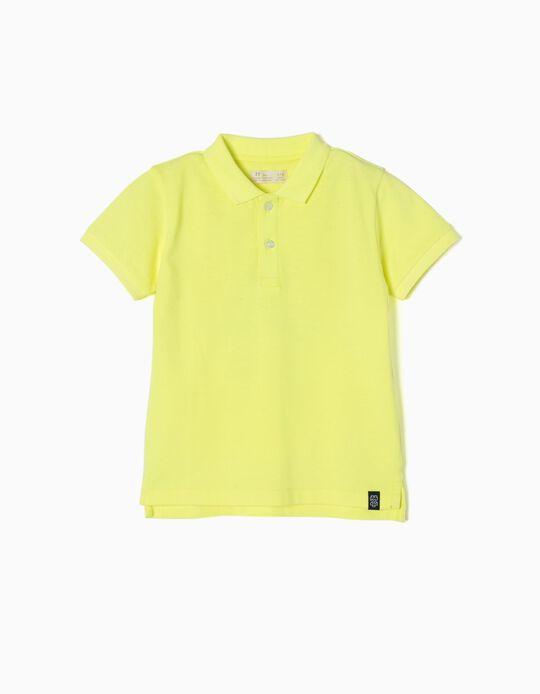 Polo Jersey ZY Amarelo
