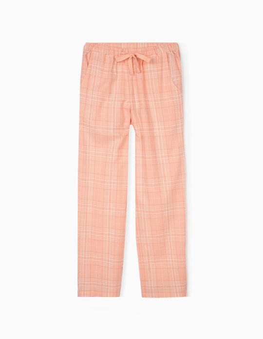 Chequered Cotton Pyjamas