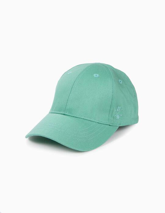 Boné para Menina 'ZY 96', Verde Água