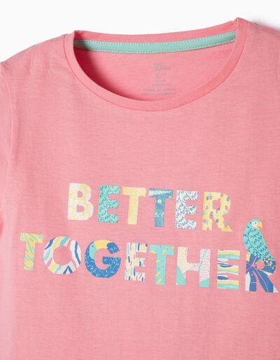 Pijama Manga Curta Better Together